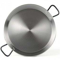 60cm - 19 Raciones - Paella de Acero Pulido Profesional - Pata Negra