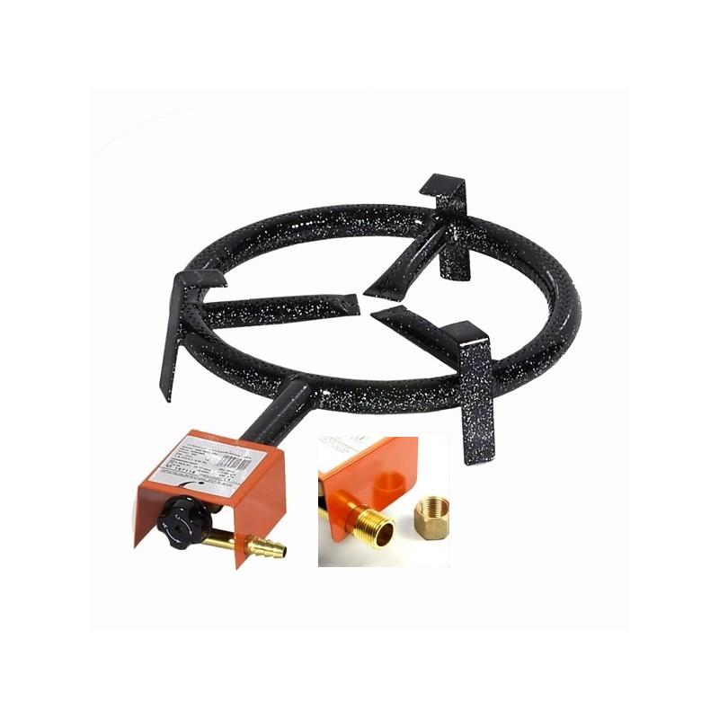 20 cm - Paellero de Gas Natural uso en Exteriores