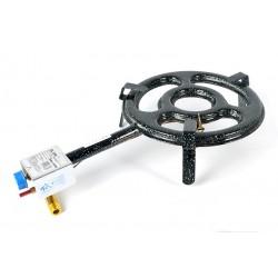 20 cm - Paellero Plano Profesional Homologado para Interiores de Gas Natural