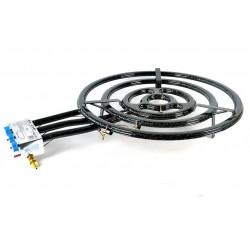 60 cm - Paellero Plano Profesional Homologado para Interiores de Gas Butano / Propano